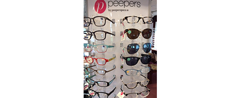 Peepers Display